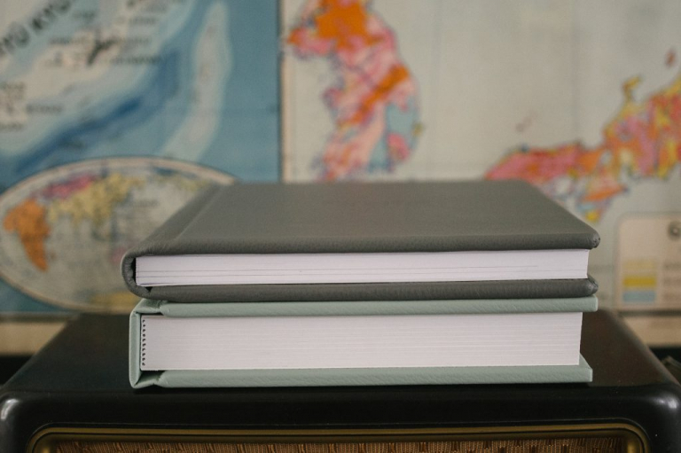 artbook and matted wedding albums