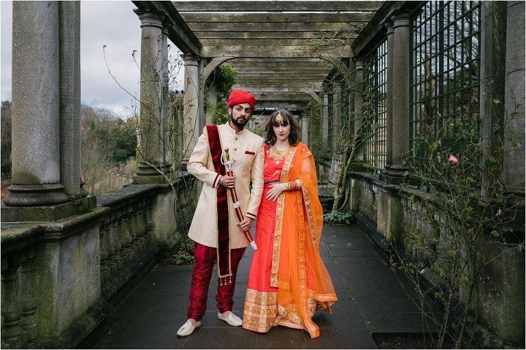 A indian pre-wedding photoshoot in London