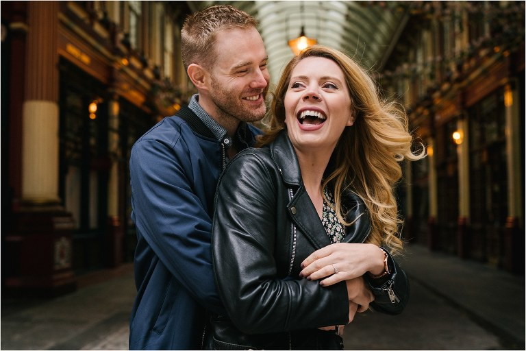 a london engagement photoshoot