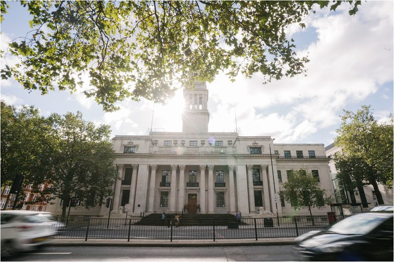 A wedding at Old Marylebone Town Hall